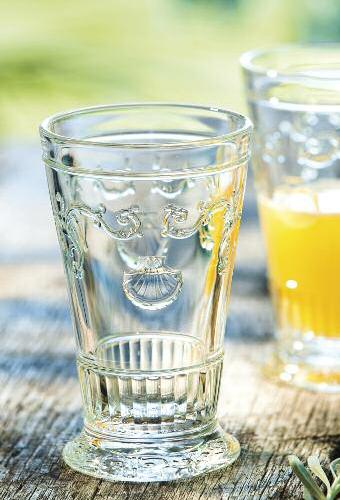Cristaleria LaRochere Invitation Vasos con relieve de Cristal